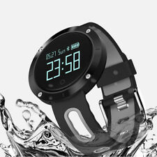 Bluetooth Smart Watch Heart Rate Monitor Blood Pressure Waterproof Smartband New