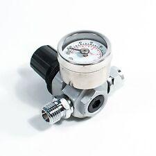 HVLP Spray Gun Air Regulator with Pressure Gauge and Diaphragm Control