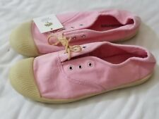 5962aafead2 TUCKER TATE PINK GIRLS CANVAS SLIP-ON COMFY EASY WEAR SNEAKERS SHOES SIZE 4