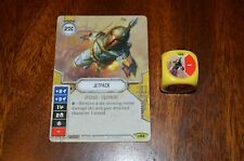 Star Wars Destiny CCG TCG Jetpack with Die #66 - Awakening RARE - Sleeved @ Open