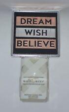 NEW BATH & BODY WORKS DREAM WISH BELIEVE WALLFLOWER FRAGRANCE PLUG IN HOLDER