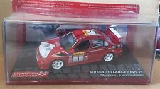 "DIE CAST "" MITSUBISHI LANCER EVO VI - 1999 "" CHAMPION RALLY CARS SCALE 1/43"