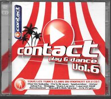 2 CD COMPIL 43 TITRES--CONTACT PLAY & DANCE VOL.6--SOLVEIG/BROWN/USHER/SHAGGY...