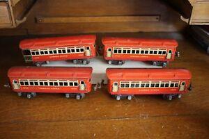 Lionel O Gauge 3 1690 Passenger Cars 1 & 1691 Observation Car Lot No Reserve