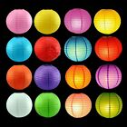 "4"" 8"" 16"" Multicolor Chinese Paper Round Lanterns Wedding Party Decor Decoration"
