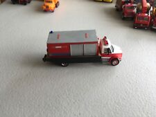 HO Scale 1/87 Red/White Boley Custom made Rollback wrecker with tools container