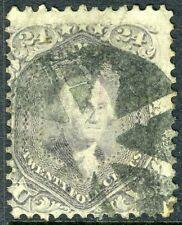 USA-1863 24c Grey Lilac Sg 74 FINE USED V18054