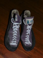 Womens Climb Reaver Clibing Shoes Size 6 Purple Made In Russia