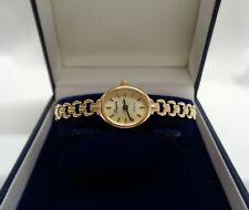 """Fine Royale Quartz Watch 9ct Yellow Gold Case and Bracelet - Length 6 1/2"""" -9.1g"""