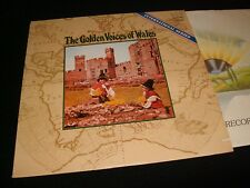 THE GOLDEN VOICES OF WALES<>MALE CHOIR<>LP Vinyl~USA Pressing<>LONDON SPW 10012