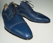 NIB Stefano Bemer Goodyear Leather Shoes 10 (43) Handmade in Italy