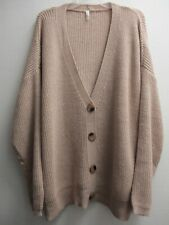 Pink Blush Oversized Cardigan Sweater (New w/Tags) Size Large