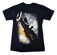 Marvel Mens Captain America Winter Soldier Tee Shirt New S