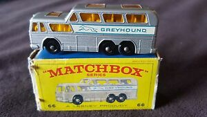 Matchbox Series No. 66 B.P. Greyhound Coach with Box