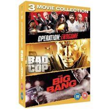 COP TRIPLE: BIG BANG/BAD COP/OPERATION ENDGAME NEW REGION 2 DVD