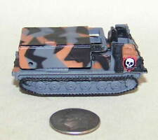 Small Micro Machine Plastic M-270 MLRS in Gray/Brown/Black Camouflage