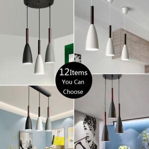 3X Wood Pendant Light Modern Ceiling Lights Bar Lamp Kitchen Pendant Lighting