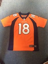 NIKE NFL DENVER BRONCOS PEYTON MANNING GAME JERSEY SIZE MEDIUM YOUTH AGE 10-12 Y