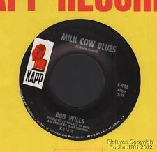(Hear) 1969 Bob Wills Western Swing 45 (Milk Cow Blues)