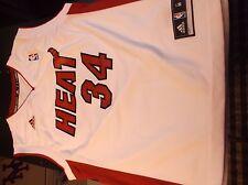 adidas brand Miami Heat #6 Ray Allen basketball jersey. Boy's Size M (10/12).