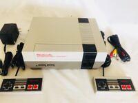 Nintendo Nes Console System - New 72 Pin - Region Free -LED MOD-  READ