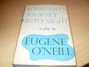 Long Day's Journey into Night by Eugene Gladstone O'Neill (Hardback, 1958)