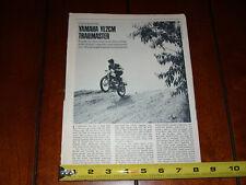 1968 Yamaha Ylcm Trailmaster - Original Vintage Article