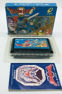 NES Famicom Dragon Quest 2 II Complete Japanese Ver