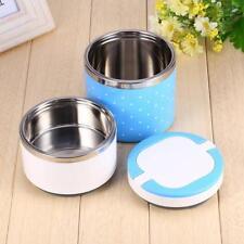 Contenant Alimentaire Rond Boîte à Repas Isotherme pour Soupe et Pottage