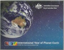 2008 MINT SET - UNCIRCULATED MINT COIN SET -*ROYAL AUSTRALIA MINT*