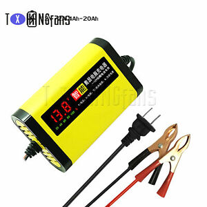 Car Motorcycle digital display Battery Charger 12V 2A 3 Stages Lead Acid ATF