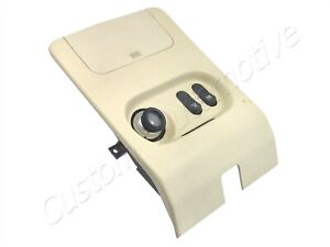 93-98 SAAB 9000 BEIGE INTERIOR LIGHT 9660226 reading map dome lamp switch panel