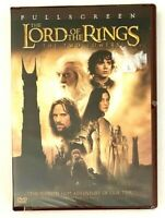 NEW The Lord of the Rings: The Two Towers DVD, 2003, 2-Disc Set Full Screen
