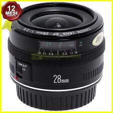Obiettivo Canon EF 28mm. f2,8 per fotocamere EOS AF digitali e a pellicola