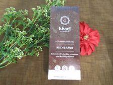 (6 /100g) Khadi Pflanzenhaarfarbe Aschbraun 100g