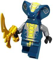 Ninjago Slithraa Pythor Snake Serpentine Spinjitzu Ninja Custom Lego Mini Figure