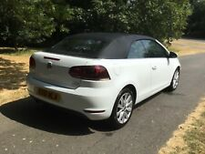 2011 VOLKSWAGEN GOLF SE CONVERTIBLE TDi BLUEMOTION - Damaged Repairable
