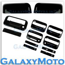 04-08 Ford F150 Black TOP HALF Mirror+4 Door Handle+keypad+KH+Tailgate Cover