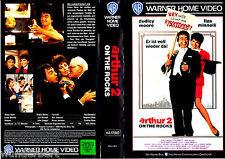 "VHS - "" ARTHUR 2 on the Rocks "" (1988) Dudley Moore - Liza Minnelli"