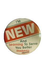 Dominick's Finer Foods New Employee Learning to Serve You Better Pin