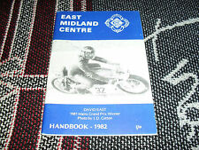 1982 East Midland centro manual Acu-David East Yamaha Cubierta