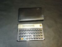 HP 12C Calculator Hewlett-Packard With Slip Cover USA CR2032