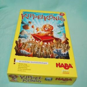 HABA WOBBLE KING  Board Game Good Condition and Complete