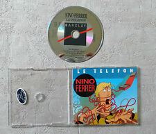 "CD AUDIO FR / NINO FERRER ""LE TELEFON""  CD MAXI-SINGLE PROMO 3 TRACKS"