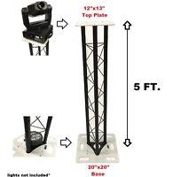 CedarsLink 5 FT 1.5 Meter Triangle Stage/Club DJ Lighting Truss Tower Totem