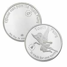 Official Visit From The Tooth Fairy 1 oz .999 Silver Round USA Bullion BU Coin