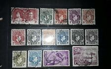 Collection George Vl Nigerian stamps used 69