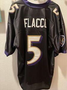 Authentic Reebok Ravens Joe Flacco Jersey sz 50