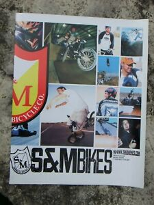 Collectable S&M Bikes Freestyle & BMX bicycle, product catalog