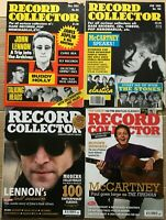 LENNON/McCARTNEY ft ~ 4 x RECORD COLLECTOR MAGAZINES ~ Nos 88,186,347,359, ~ Ex!